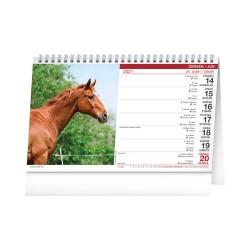 Stolní kalendář 2021 Koně – Kone CZ/SK