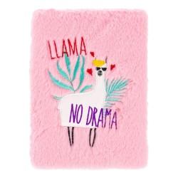 Notes plyšový Lama