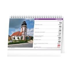 Stolní kalendář 2021 Katolický kalendář 2021