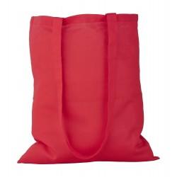 GS bavlněná nákupní taška červená