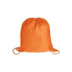 BS vak na stažení šňůrkou oranžová – 100 % bavlna