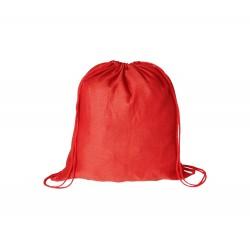 BS vak na stažení šňůrkou červený – 100 % bavlna