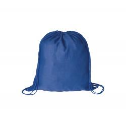 BS vak na stažení šňůrkou modrý– 100 % bavlna