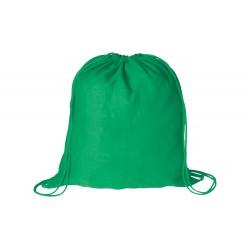 BS vak na stažení šňůrkou zelený– 100 % bavlna