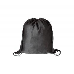 BS vak na stažení šňůrkou černá– 100 % bavlna