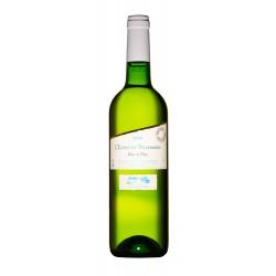 bílé víno ESPRIT DE  VILLEMARIN BLANC 2018 I.G.P.