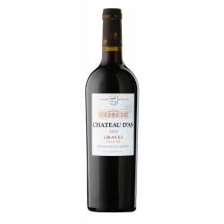 červené víno CHATEAU D'AS A.O.C.2015 (2016)