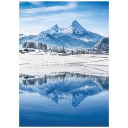 Nástěnný kalendář 2022 Alpy