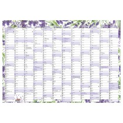 Nástěnný roční kalendář 2022 A2 - Levandule