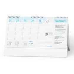 Stolní kalendář 2022 Plánovací daňový kalendář s angličtinou