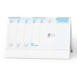Stolní kalendář 2022 Plánovací daňový kalendář s poznámkami