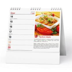 Stolní kalendář 2022 IDEÁL - Hrníčkové recepty