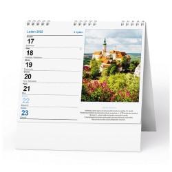 Stolní kalendář 2022 IDEÁL - Hrady a zámky
