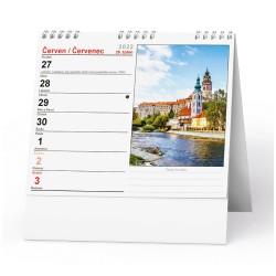 Stolní kalendář 2022 IDEÁL - Česká republika