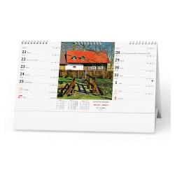 Stolní kalendář 2022 Chalupy