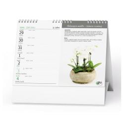 Stolní kalendář 2022 Pokojové květiny