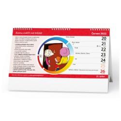 Stolní kalendář 2022 Kalendář pro naše babičky a dědečky