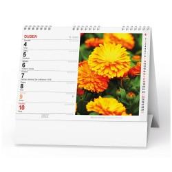 Stolní kalendář 2022 Květiny