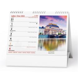 Stolní kalendář 2022 Praha
