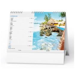 Stolní kalendář 2022 Obrázky z cest