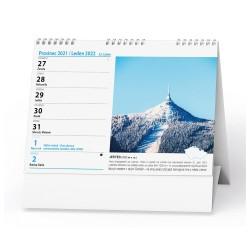 Stolní kalendář 2022 Poznáváme Českou republiku