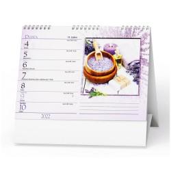 Stolní kalendář 2022 Levandule