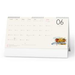 Stolní kalendář 2022 Měsíční kalendář
