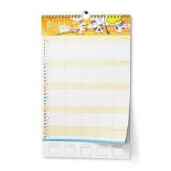 Nástěnný kalendář 2022 Rodinný
