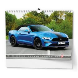 Nástěnný kalendář 2022 Superauto