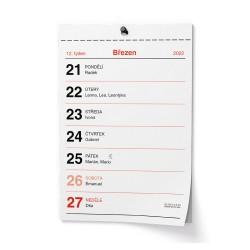 Nástěnný kalendář 2022 Trhací kalendář - Senior I. - A6