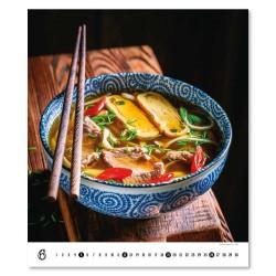 Nástěnný kalendář 2022 Gourmet