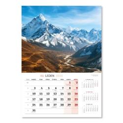 Nástěnný kalendář 2022 Krajina