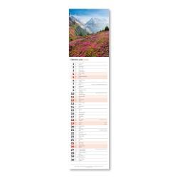 Nástěnný kalendář 2022 Kravata - Krajina CZ/SK