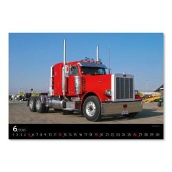 Nástěnný kalendář 2022 Trucks