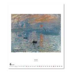 Nástěnný kalendář 2022 Impresionismus