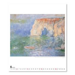 Nástěnný kalendář 2022 Claude Monet