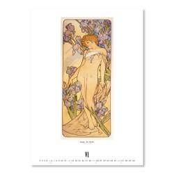 Nástěnný kalendář 2022 Alfons Mucha