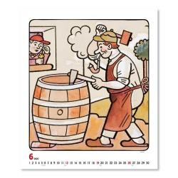 Nástěnný kalendář 2022 Josef Lada - Řemesla