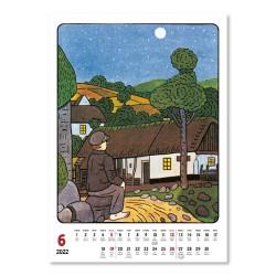 Nástěnný kalendář 2022 Josef Lada - Rok na vsi