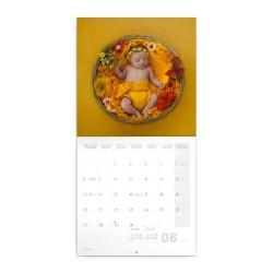 Nástěnný poznámkový kalendář 2022 Babies - Věra Zlevorová