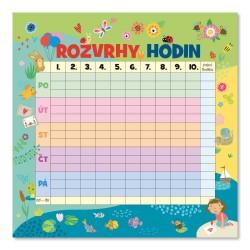 Nástěnný kalendář 2022 Rodinný plánovací