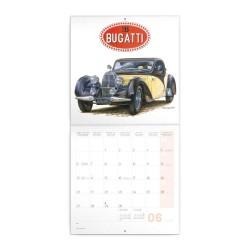 Nástěnný poznámkový kalendář 2022 Classic Cars - Václav Zapadlík
