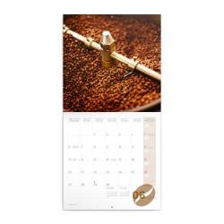 Nástěnný poznámkový kalendář 2022 Káva, voňavý
