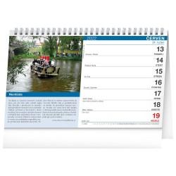 Stolní kalendář 2022 Tipy na výlety s dětmi