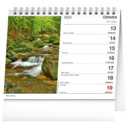 Stolní kalendář 2022 České hory