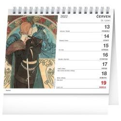 Stolní kalendář 2022 Alfons Mucha