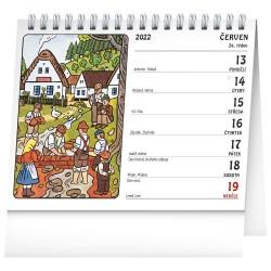 Stolní kalendář 2022 Josef Lada - Děti