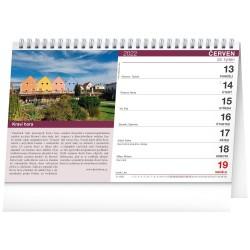 Stolní kalendář 2022 Putování za vínem