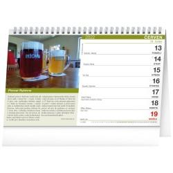Stolní kalendář 2022 Putování za pivem