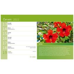 Stolní kalendář 2022 - Zahrádkářův rok